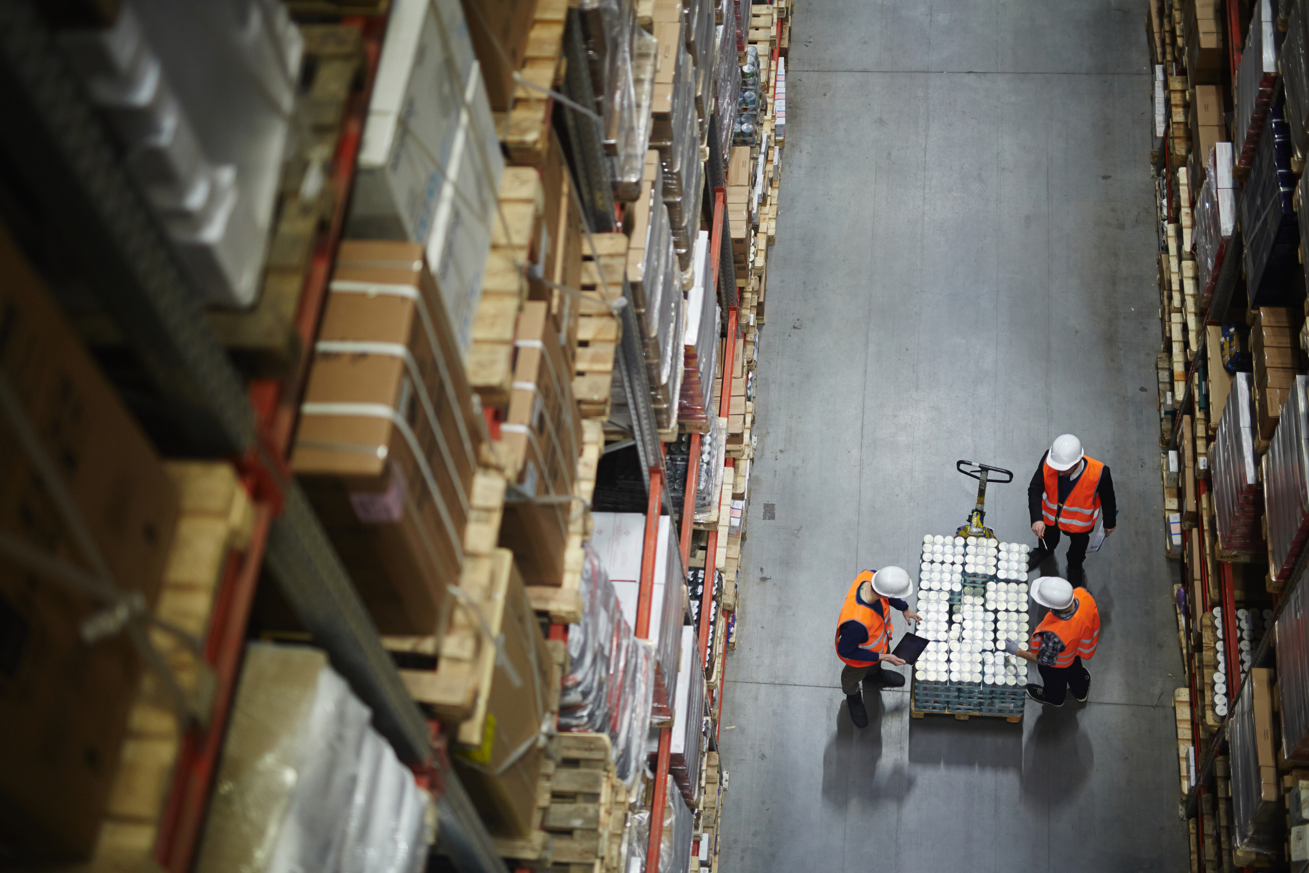 warehousing solution for overflow inventory